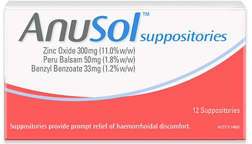 Anusol<sup>™</sup> suppositories